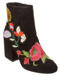Kenneth Cole - Black New York Reeve Suede Bootie - Lyst