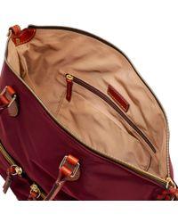 Dooney & Bourke - Red Nylon Large Pocket Satchel - Lyst