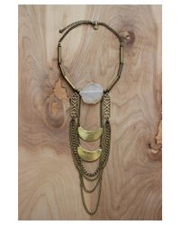 Love Leather - Multicolor Mystic Moons Necklace - Lyst