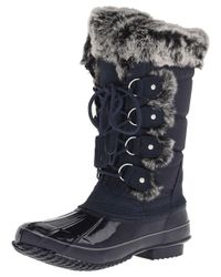 Khombu - Blue Women's Bryce Snow Boot - Lyst