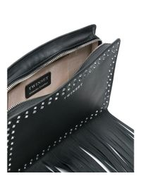 Twin Set - Women's Black Leather Shoulder Bag - Lyst