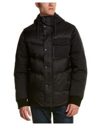 Victorinox | Black Swiss Army Quilted Down Jacket for Men | Lyst