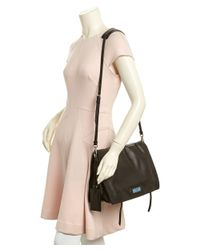 Prada - Black Etiquette Calf Leather Shoulder Bag - Lyst