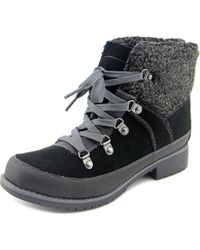 Sporto - Debbie Women Round Toe Synthetic Black Ankle Boot - Lyst