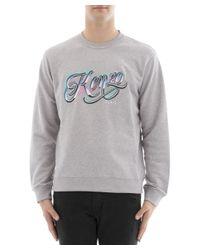 KENZO - Gray Kenzo Grey Sweatshirt for Men - Lyst