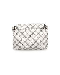 Marc Jacobs - Women's ¿the Large Single¿ Shoulder Cross Body Handbag White Black - Lyst
