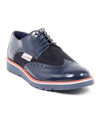 Andrew Charles by Andy Hilfiger - Blue Andrew Charles Mens Brogue Oxford Shoe for Men - Lyst