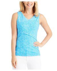 J.McLaughlin - Blue Knit Top - Lyst