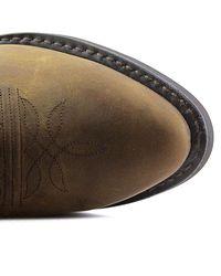 Durango - Multicolor Db922 Men Round Toe Leather Tan Western Boot - Lyst
