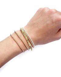 April Soderstrom Jewelry - Metallic Mini Bead Bracelet - Lyst