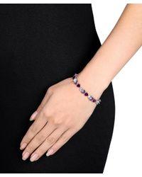 Julianna B - Metallic Blue Topaz - Sky Amethyst Rhodolite-garnet Bracelet - Lyst