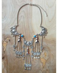 Love Leather - Multicolor Moon Dreamer Necklace - Lyst