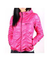 Hogan - Purple Ladies Jacket With Hood - Lyst