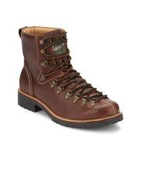 G.H.BASS - Brown . Mens Brantley Casual Waterproof Boot for Men - Lyst