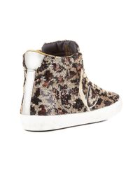 Philippe Model - Sneaker In Brown , Size 39 - Lyst