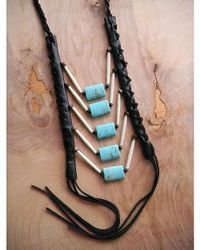Love Leather | Multicolor Rock Necklace | Lyst