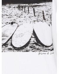 Bogner White Printed T-shirt Cedric for men