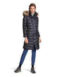 Bogner | Blue Down Long Coat Hanya | Lyst