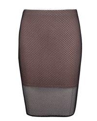 Boohoo - Multicolor Plus Hannah Mesh Midi Skirt - Lyst