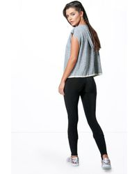 Boohoo - Black Elena Dance Slinky Stirrup Workout Running Leggings - Lyst