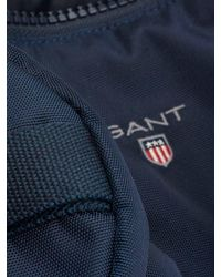 Gant - Men's Original Washbag, Blue Men's Sports Bag In Blue for Men - Lyst