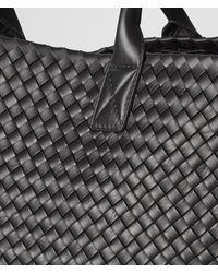 Bottega Veneta - Black Nero Intrecciato Nappa Cabat - Lyst