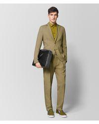 Bottega Veneta - Green Chamomile Cotton Shirt for Men - Lyst