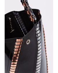 Proenza Schouler - Black Hex Leather Bucket Bag - Lyst