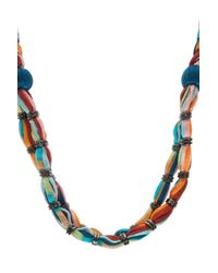 Missoni | Blue Rope Necklce | Lyst