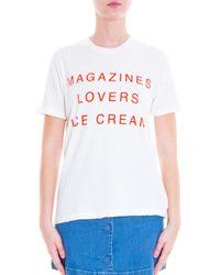 Wildfox - Black Magazines Lovers T-shirt - Lyst