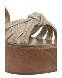 Étoile Isabel Marant - Natural Zia Wedge Sandals - Lyst