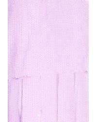 Tibi - Pink Sequin Dress - Lyst