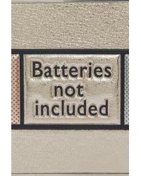 Anya Hindmarch - Metallic Imperial Batteries Clutch - Lyst