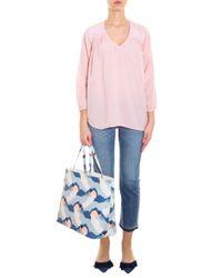 Current/Elliott - Pink Picnic Shirt - Lyst