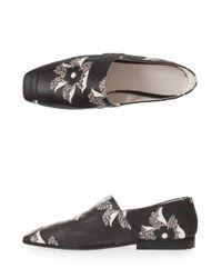 Victoria Beckham - Multicolor Leather Slipper Shoes - Lyst