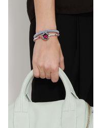 Carolina Bucci   Black Rose Gold Twister Bracelet   Lyst