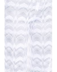 Missoni - White Woven Trousers - Lyst