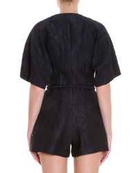 Merchant Archive - Black Beach Playsuit - Lyst