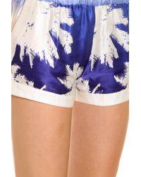 Paul & Joe - Blue Palm Shorts - Lyst