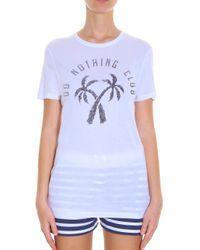 Zoe Karssen - Black Do Nothing T-shirt - Lyst