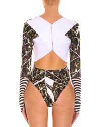 Preen By Thornton Bregazzi - Multicolor Stern Bodysuit - Lyst