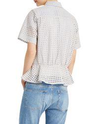 Paul & Joe - Blue Pervenche Shirt - Lyst