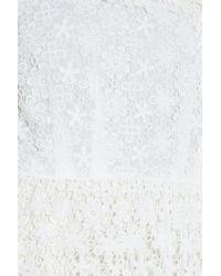 Paul & Joe - White Lace Top - Lyst