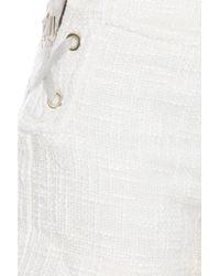 Paul & Joe - White Wool Shorts - Lyst
