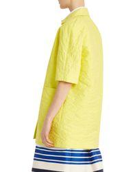 Paul & Joe - Yellow Barbade Coat - Lyst