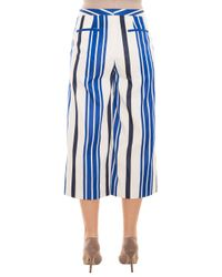 Paul & Joe - Blue Striped Culottes - Lyst
