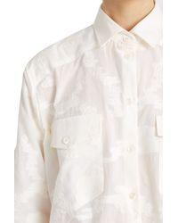 Paul & Joe - White Ausoleil Shirt - Lyst