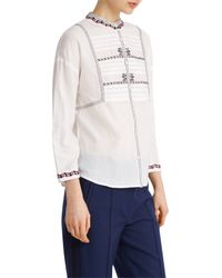 Paul & Joe - White Escalade Shirt - Lyst
