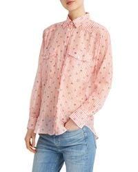 Paul & Joe - Pink Aupivoine Shirt - Lyst