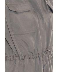 Paul & Joe - Gray Filament Dress - Lyst